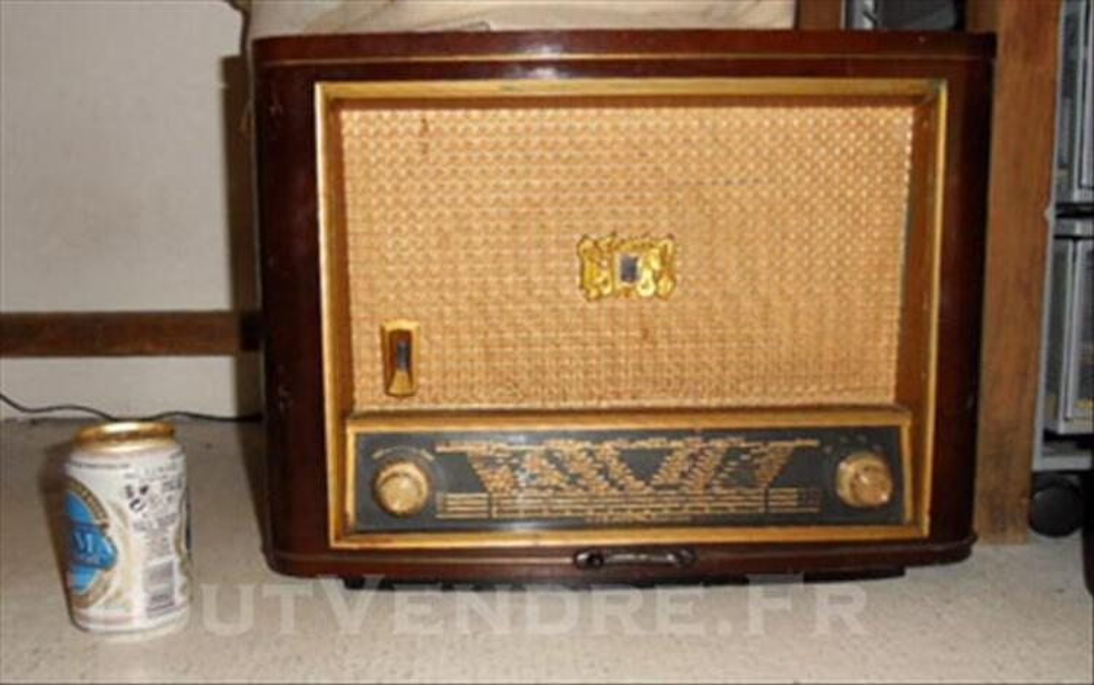 Poste radio ancien TSF, Radiola 74029858