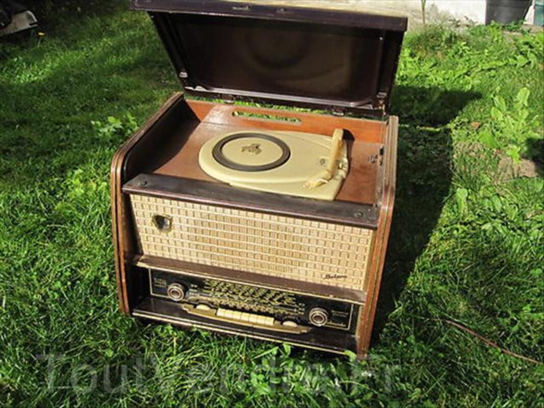 Poste Radio  TSF Tourne-disques Schneider 55779928
