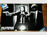 Posters X-Files et Pulp Fiction