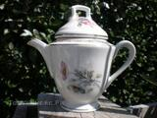 Pot à lait porcelaine  de luxe compagnie nationale