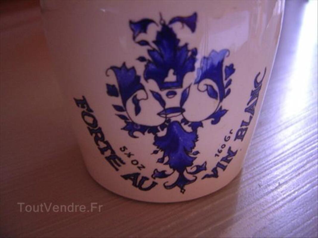 Pot à moutarde ancien sarreguemines pub dijon gres 87051140