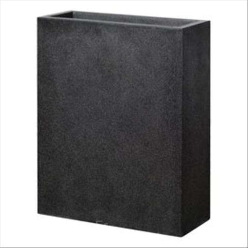 Pot muret haut composite carbone h.100cm 99639176