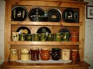 Poteries de savoie  plats savoyard, poterie savoyarde