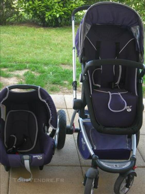 Poussette + cosy safety 1st by baby relax violette 83115849