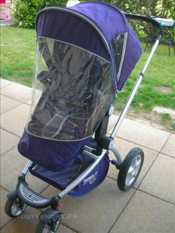 Poussette + cosy safety 1st by baby relax violette 83115850