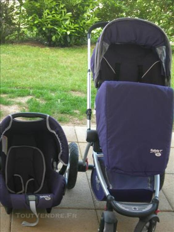 Poussette + cosy safety 1st by baby relax violette 83115851