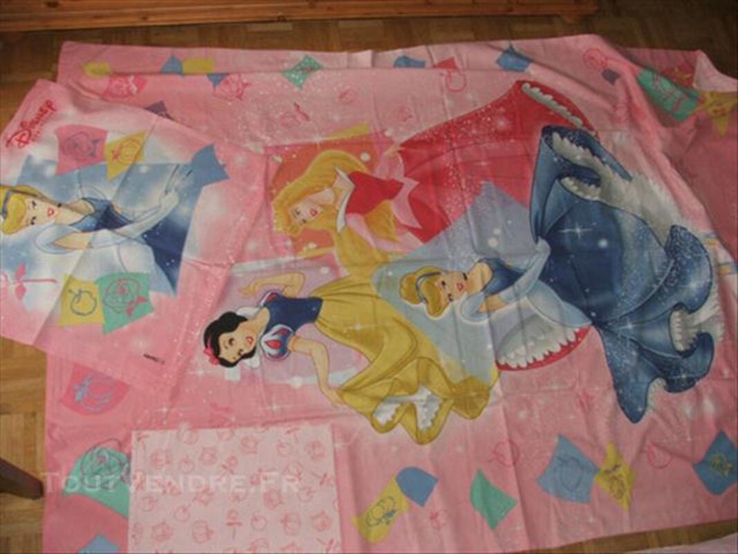 Princesses walt disney parure de lit 1 personn complete 74021349