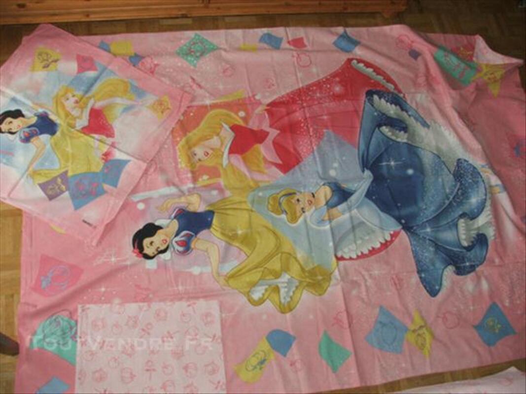 Princesses walt disney parure de lit 1 personn complete 74021350