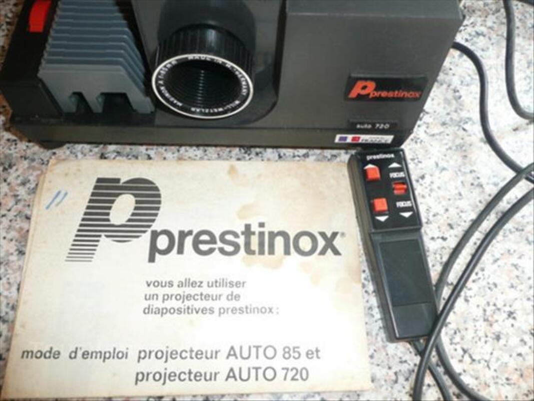 Projecteur diapositives PRESTINOX AUTO 720 comme neuf 84572514