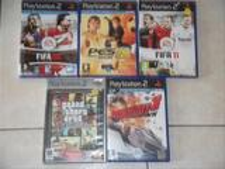 Ps2 + 4 jeux + 2 manettes