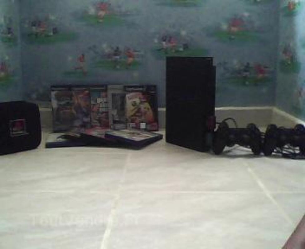 PS2 + jeux + accessoires 14264824