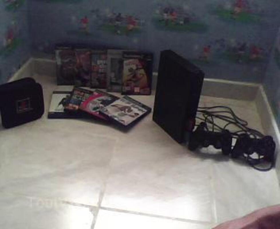 PS2 + jeux + accessoires 14264825