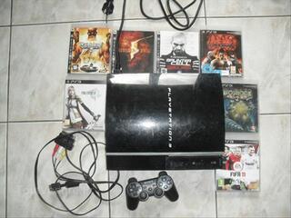 PS3 40Go + 1 manette + 7 jeux