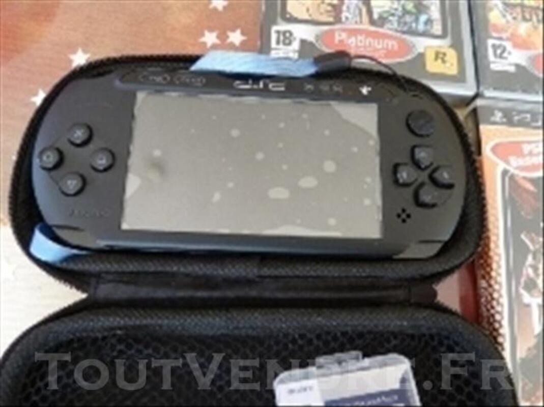 PSP street neuve + camera + jeux + carte memoire-mem 73972179