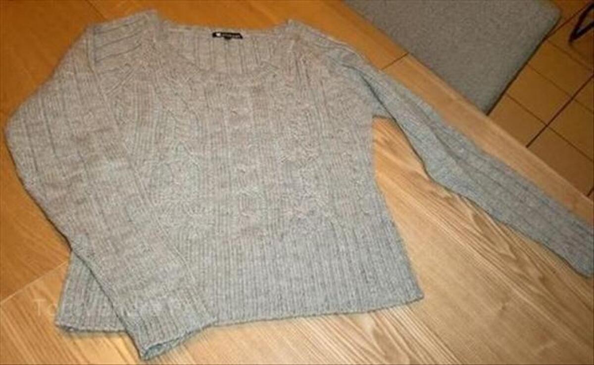 Pull femme gris 38/40 63338674