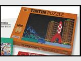 PUZZLE TINTIN FUSEE 1000 pièces + 1 POSTER moulinsart herge