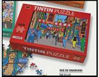 PUZZLE TINTIN RUE DE SHANGHAI + 1 POSTER moulinsart herge
