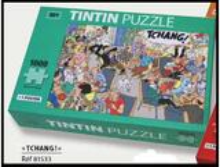 PUZZLE TINTIN TCHANG 1000 PIECES + 1 POSTER moulinsart herge