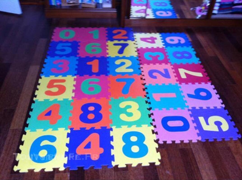 Puzzles en chiffres enfants / Tapis caoutchouc 64392241