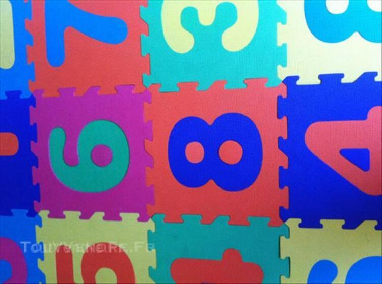 Puzzles en chiffres enfants / Tapis caoutchouc 64392243
