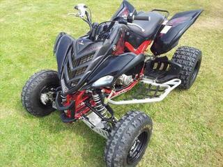 Quad Yamaha YFM Raptor 700 R Homologuée Special Edition