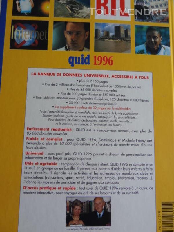 QUID 1996 NEUF 166487751