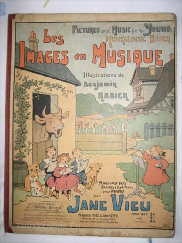 Rabier Benjamin-Vieu Jane : les images en musique 85517062