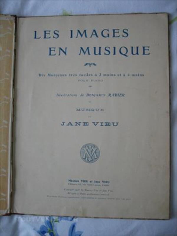Rabier Benjamin-Vieu Jane : les images en musique 85517063