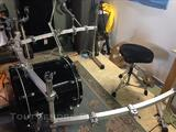 Rack Pearl DR 503 C + Clamps + Perchettes