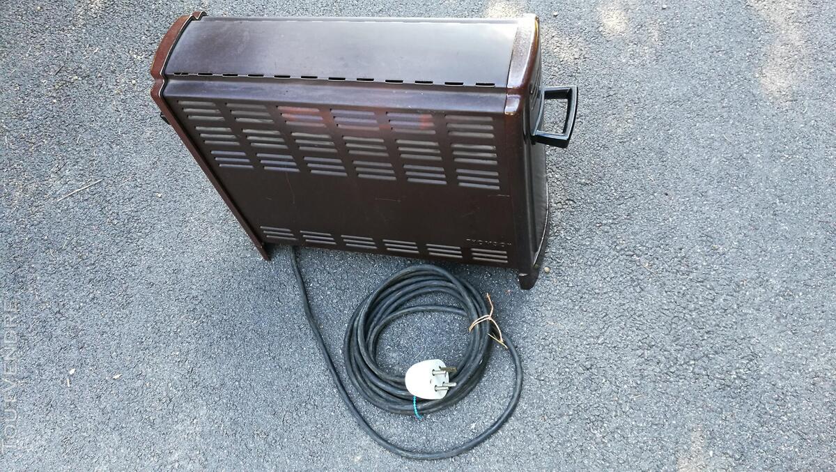 Radiateur électrique nomade THOMSON  fonte émaillée Vintage 576726731