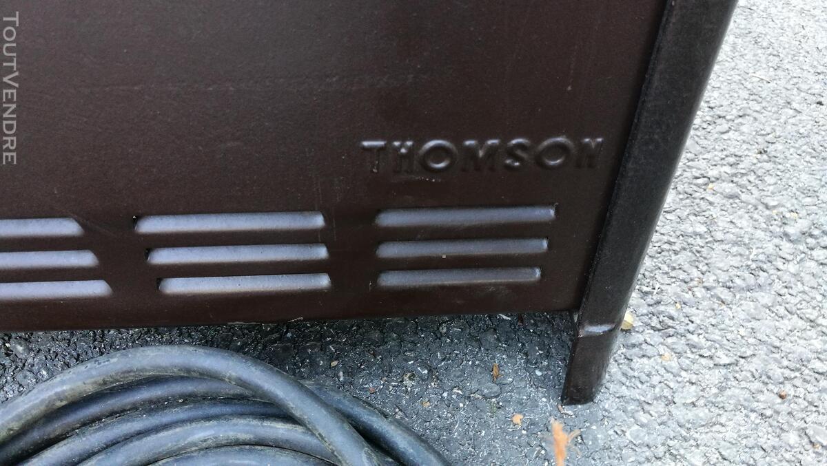 Radiateur électrique nomade THOMSON  fonte émaillée Vintage 576727595