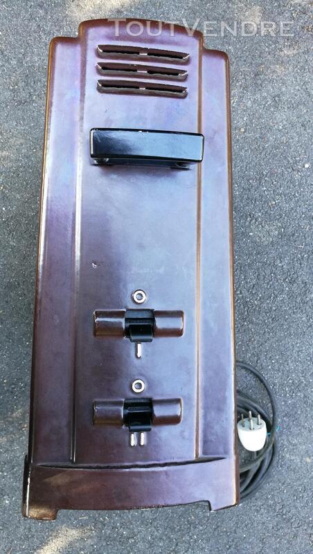 Radiateur électrique nomade THOMSON  fonte émaillée Vintage 576729875
