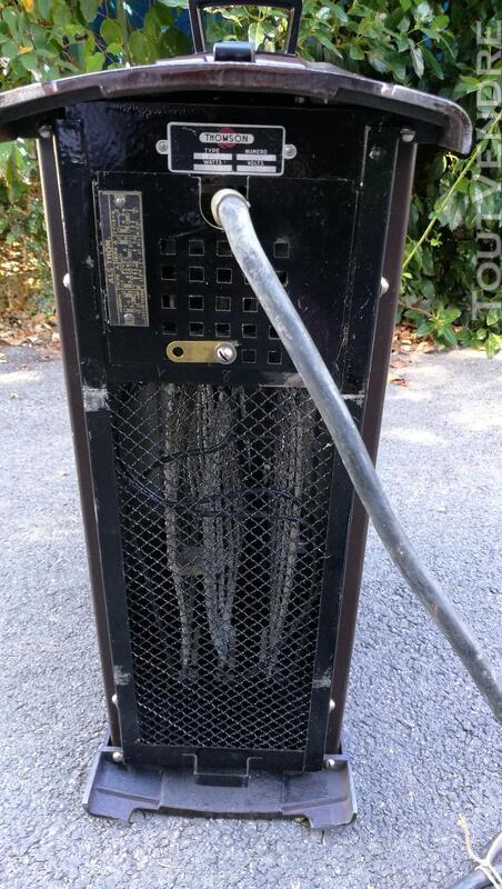 Radiateur électrique nomade THOMSON  fonte émaillée Vintage 576730700