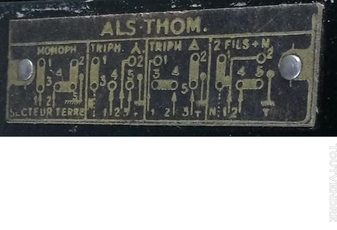 Radiateur électrique nomade THOMSON  fonte émaillée Vintage 576737156