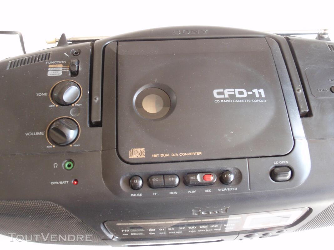 Radio CD K7 Sony 651683944