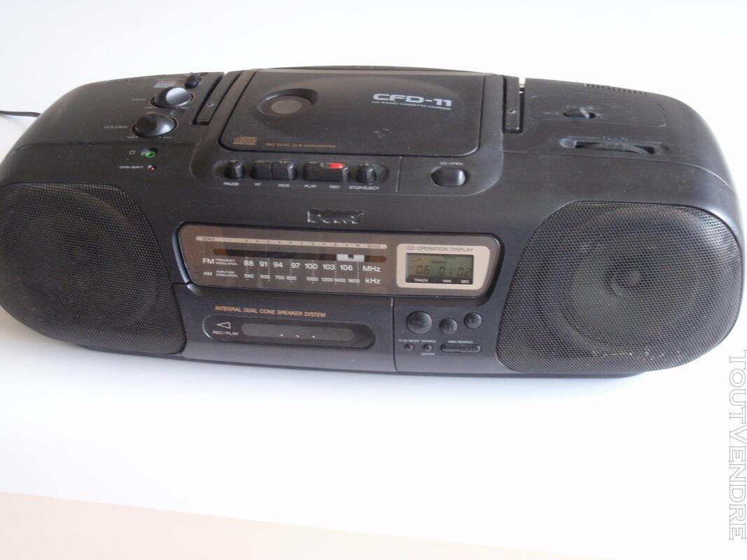 Radio CD K7 Sony 651683947