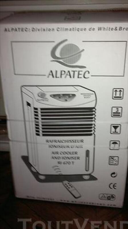 Rafraichisseur, ventilateur, ionisateur Alpatec R1 670 85882292