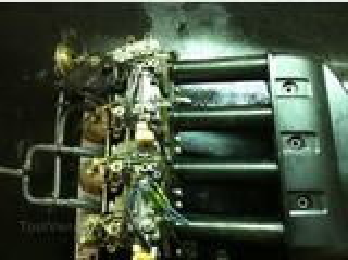 Rampe de carburateur pour moteur Yamaha 100 cv 4 tps
