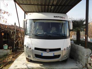 Rapido 9066df 4200kg avec lit jumeaux  9000km an 2012