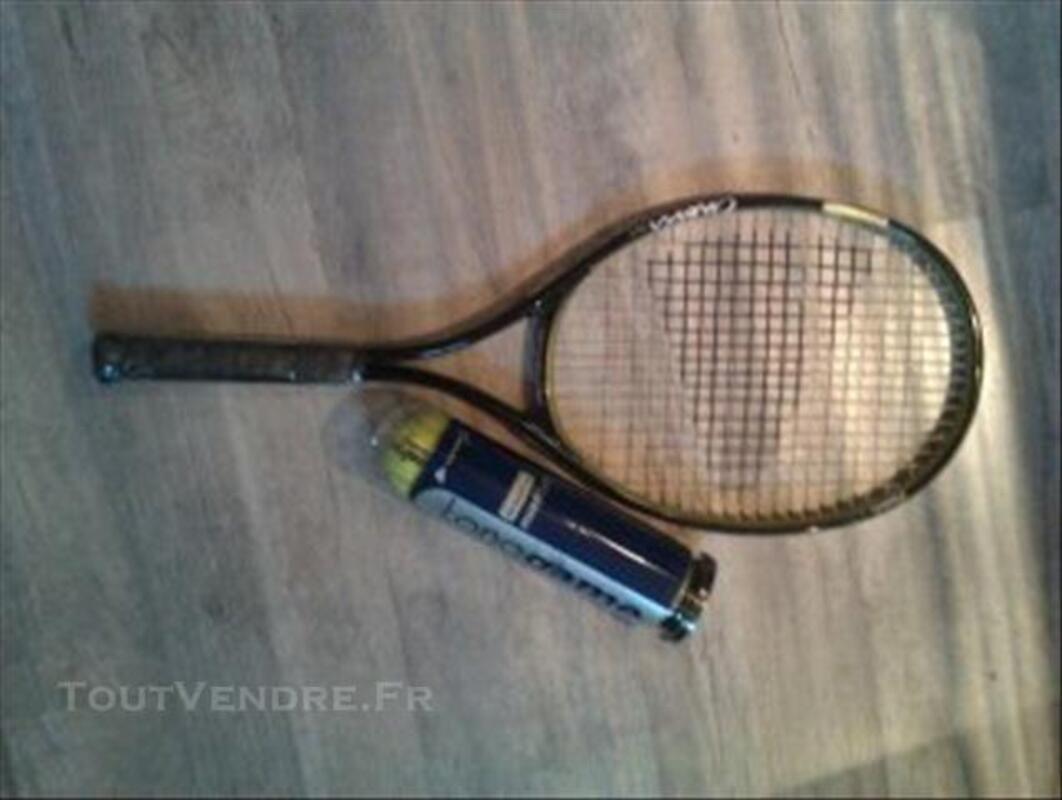 Raquette de Tennis ienesis + lot de balles 76148944