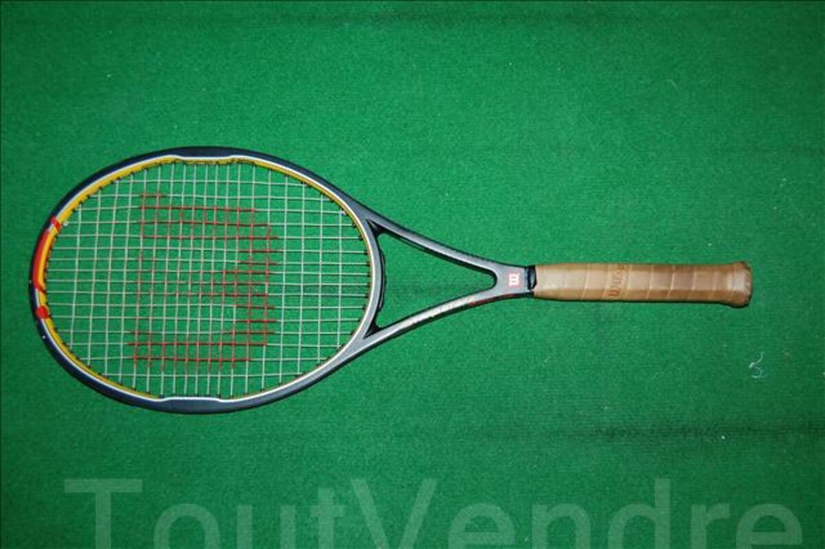 Raquette de tennis Wilson Pro staff tour hyper carbon 4444