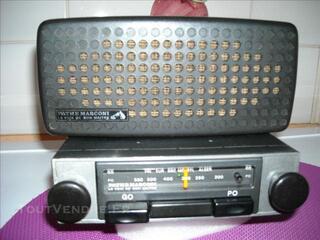 RARE ! auto radio de collection PATHE MARCONI