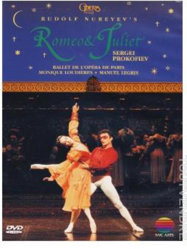 RARE : Ballet Roméo et Juliette,VHS (R. Noureev) 297643244