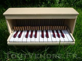 Rare jouet ancien musical piano Michelsonne