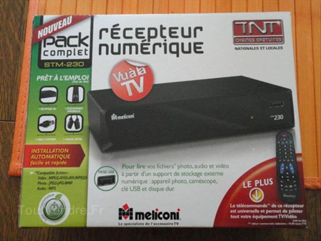 Récépteur terrestre TNT Meliconi STM -230 88240937