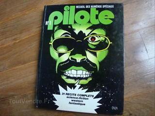 RECUEIL PILOTE, album NUMERO 1 1976 TBE+
