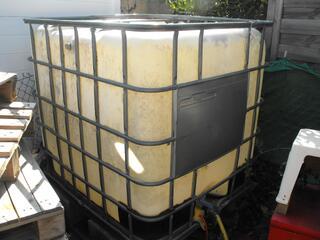 Recuperateur d'eau 1000L