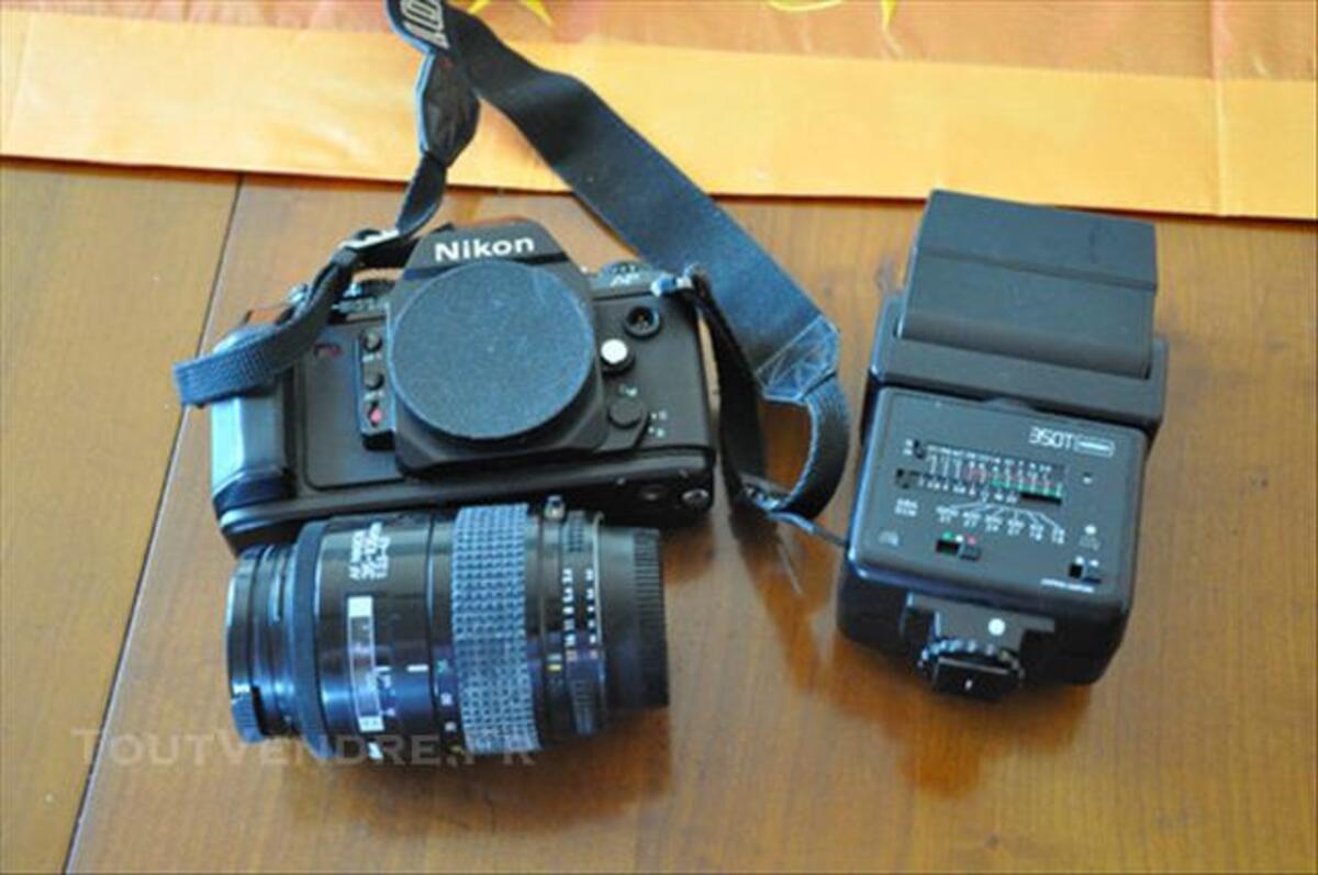 Reflex argentique Nikon F501 + AF+ flash 85954096