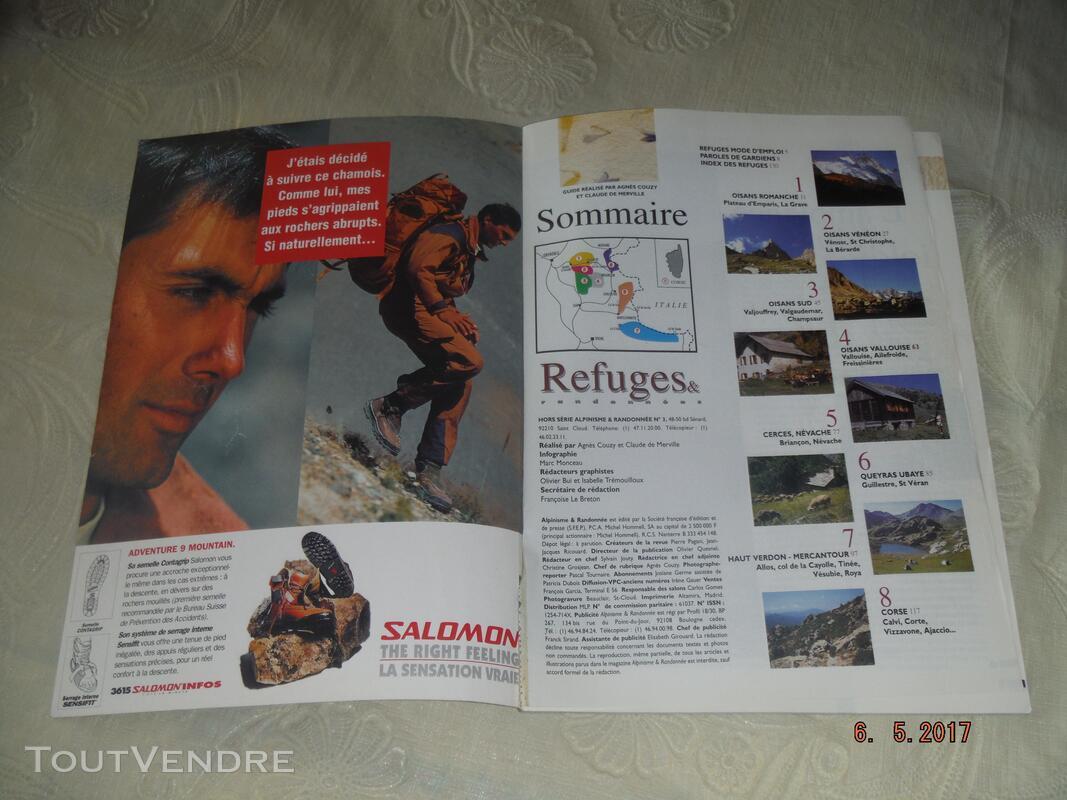 REFUGES & RANDONNEES : Alpes du Sud & Corse,Alpes du Nord 257705912