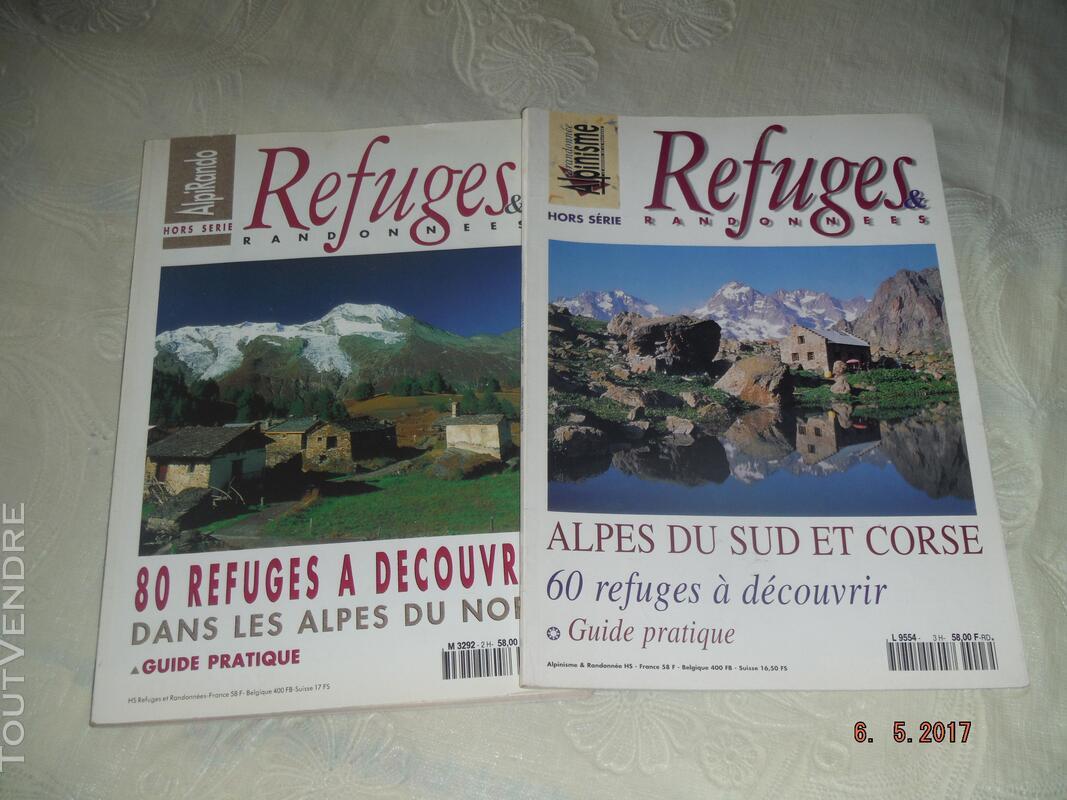 REFUGES & RANDONNEES : Alpes du Sud & Corse,Alpes du Nord 257705915